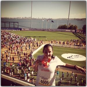 Danielle, Staten Island Half Marathon