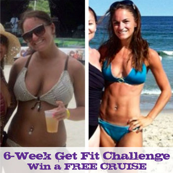 6 Week Get Fit Challenge - Win a FREE CRUISE
